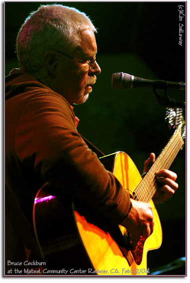 Bruce Cockburn-2004-Mateel-photo Kim Sallaway