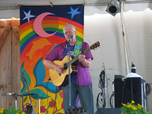 Bruce Cockburn at Solfest in Hopland