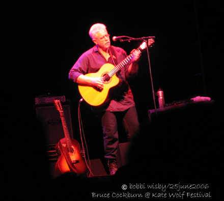 Bruce Cockburn at Kate Wolf 2006