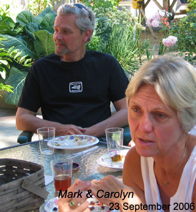 Carolyn and Mark