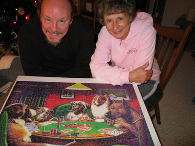 Sue Kensler and Russel Wisby