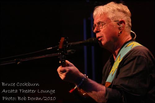 Bruce Cockburn Arcata 2010
