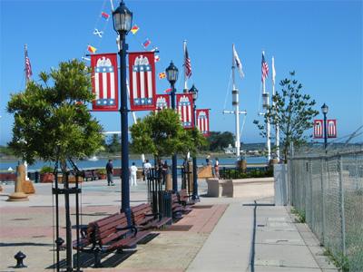 Eureka waterfront